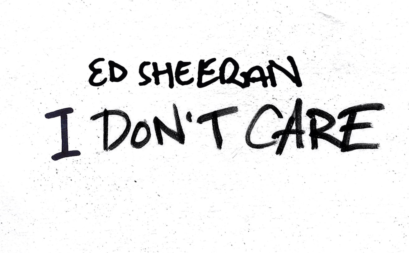 Ed Sheeran I Don T Care Acoustic